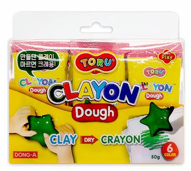 Masa kredkowa marki Dong-A w zestawie